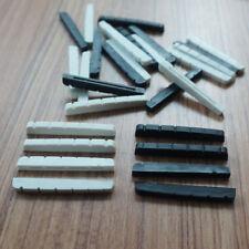 43 mm graphite electric guitar nut  black or white fender stratocaster telecaste