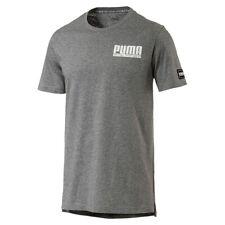Puma Style Athlétique T-shirt pour hommes vêtement de sport 850031 03 Gris