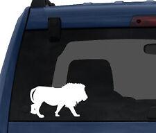 Wild Cat #5- Lion Stalking Prey Savannah Predator - Car Tablet Vinyl Decal