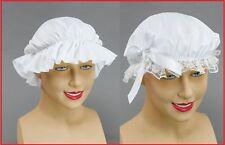 Victorian Mob Cap & Maid Cap Lace Trim Tudor Book Week Day Fancy Dress Accessory