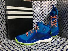 Scarpe Adidas Basket Uomo - D Howard 5 SCONTATE - Azzurro Verde - D73948