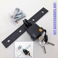 Yale Padlock Waterproof & Hasp Locking Security Bar Van Door Cabinet Garage Shed
