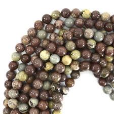 """Chohua Jasper Round Beads Gemstone 15"""" Strand 4mm 6mm 8mm 10mm 12mm"""