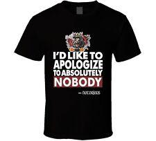 Conor Mcgregor Apologize UFC MMA Notorious T Shirt