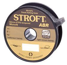 Schnur STROFT ABR Monofile 100m Angelschnur Angelleine Angelsehne wenig Abrieb