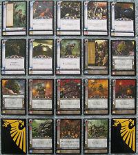 Dark Millennium Warhammer 40K CCG Fires of Pyrus Uncommon Cards Part 2/2 (WH40k)