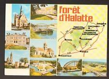 FORET D'HALATTE ,PONPOINT, ROBERVAL, VERBERIE, SENLIS..