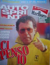 Autosprint 11 1989 Rivoluzione Ferrari: arriva Cesare Fiorio. Test Lotus 101 sc5