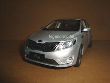 1/18 China Kia K2 silver color die cast model car