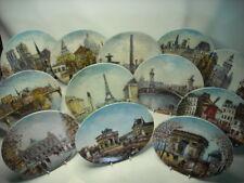 Choose ONE OR MORE Plates SIGHTS OF PARIS Limoges Plate Sites Parisiens Dali