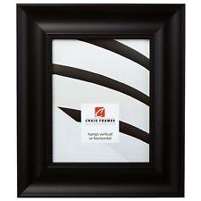 """Craig Frames Impression Ornate, 2.75"""" Traditional Black Picture Frame"""