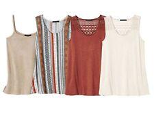 (R7) ESMARA® Damen Shirt Top Fashiontop Trägertop NEU