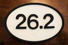 "26.2 Marathon MDF Home Decor Wood Sign 12"" 18"" 24"" 36"" Running Race"