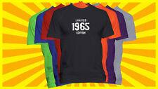 1965 Limited Edition T-Shirt Birthday Year Born T Shirt Born in Year Tee