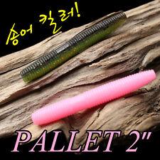 "15 soft lures stick worm Pallet 2"" PAYO 51mm fishing wacky blackbass perch"