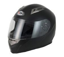 VCAN V158 Full Face ACU Gold Motorbike Motorcycle Cruiser Lid Helmet Matt Black