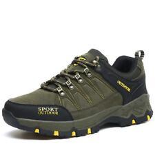 Mens Chic Outdoor Hiking Trekking Sneaker Climbing Moutain Shoes Green zhou8