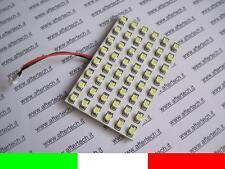 PANNELLO 48 LED SMD3528 BIANCO 6000K T10 BA9S SILURO M3