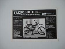 advertising Pubblicità 1977 MOTO TGM 50 CROSS ELABORAZIONE TRESOLDI