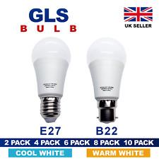 LED GLS GLOBE Light Bulb A60 B22 E27 Energy Saving Warm Cool Day White Shape A+