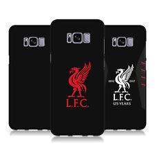 LIVERPOOL FC LFC VARIOUS DESIGNS BLACK SOFT GEL CASE FOR SAMSUNG PHONES 1