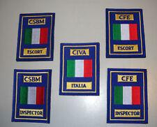 Serie di patch specialisti AVES/AERONAUTICA (araldica,militaria)