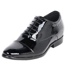 "Groom Wedding Dress Height Increase Men Tuxedo Shoes 3"" Taller Elevator CYT59"