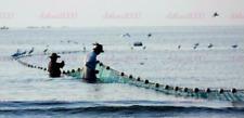 Green Mesh 2.5x2.5cm Customize Hand Made Beach seine/ Drag Nets