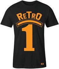 """Retro 1"" T-Shirt to Match Retro ""Orange Peel"" 1's"