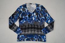 GERRY WEBER Pullover  V-Ausschnitt  Gr. 38, 40, 42, 44 geblümt 5%Kaschmir *NEU!*
