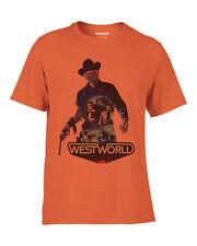 Westworld 1973 Movie Retro Style T Shirt