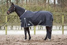 Harry's Horse Regendecke schwarz 0g Füllung wasserd. 600D Gehfalte atmungsaktiv