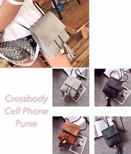 Retro Universal Multipurpose Women Cellphone Wallet Cross-body Mobile Phone Bag