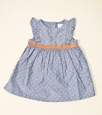Gymboree Chambray Polka Dot Baby Girl's Fall Dress [140172679-GYM001]