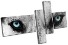 Wolf Eyes Wild Animals MULTI TOILE murale ART Photo Print