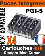 4 cartouches-ink encre compatible avec les Canon MX850 PGI5