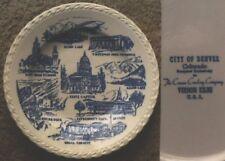 Vernon Kilns Denver Colorado collector plate-NR