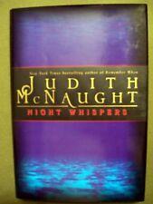 JUDITH McNAUGHT NIGHT WISPERS 1998 HC