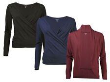 (R6) Damen Yoga Jacke Shirt Wellness Pullover Cardigan Laufjacke Fitnessjacke