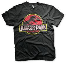 Official JURASSIC PARK Logo Unisex T-Shirt Tee NEW sizes S-XXL IN STOCK NOW
