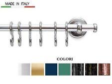 Tubo portamestoli barra cucina sottopensile cromo oro cm 60 o 100 con accessori