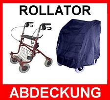 Orig.MPB® Rollator-Zubehör: Wetterfeste Abdeckhaube,Garage,Hülle Haube in blau
