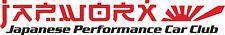 JAPWORX RISING SUN PERFORMANCE CAR STICKER jdm decal drift logo jap worx club