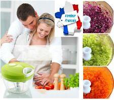 Hachoir à légumes fruits condiments - Lame acier inox spirale - Speedy Chopper -