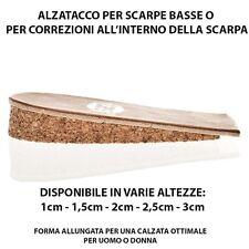 PLANTARI ALZATACCHI PER RIALZARE IL TALLONE NELLE SCARPE UOMO/DONNA DA 1CM A 3CM