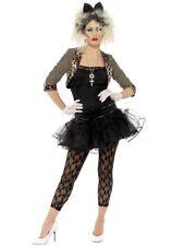 Niño Salvaje Madonna 1980s Fancy Dress Costume para partido señoras
