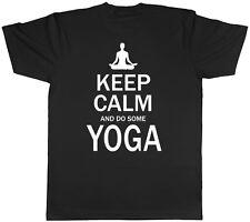 Keep Calm y hacer algunos Yoga Hombre Mujer Unisex Tee T-Shirt