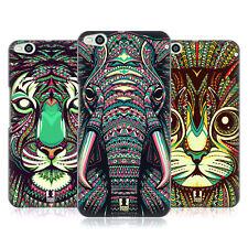 Funda Funda Diseños Azteca Animal Caras 2 rígida posterior Funda Para Htc One X