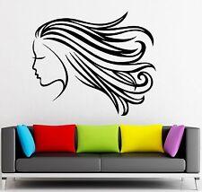 Vinyl Decal Beauty Salon Hair Stylist Hairdresser Sign Wall Sticker (ig1929)