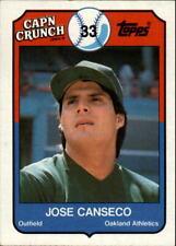 1989 Topps Cap'n Crunch Baseball - Choose Your Cards